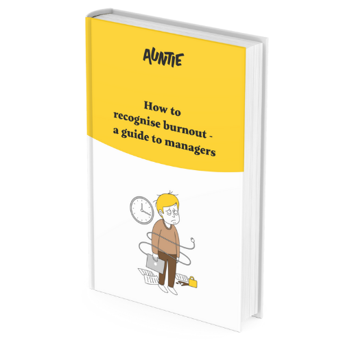 e-book cover 3d How to recognise burnout